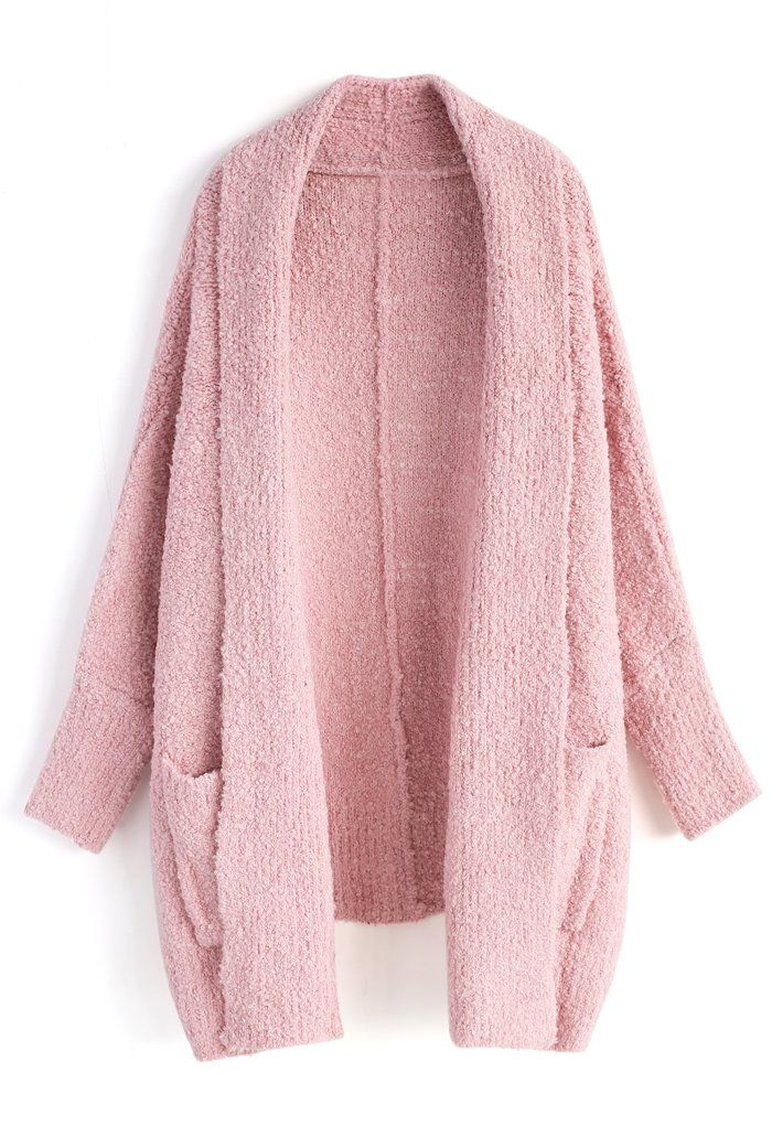 00957097fe28a Follow My Heart Longline Cardigan in Pink - New Arrivals - Retro ...