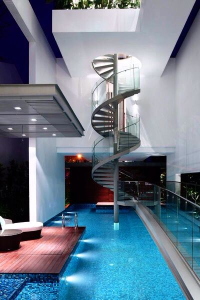 Inside Of A Stylish Home In Singapore Future House Architecture