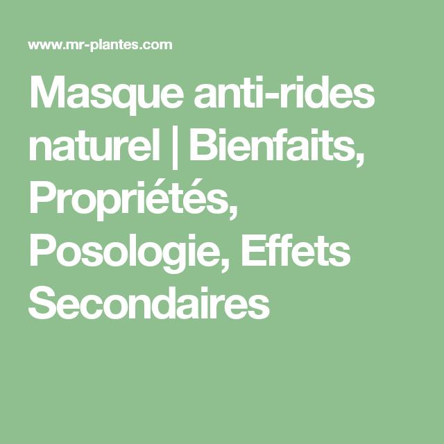 Masque anti-rides naturel | Huile essentielle citron