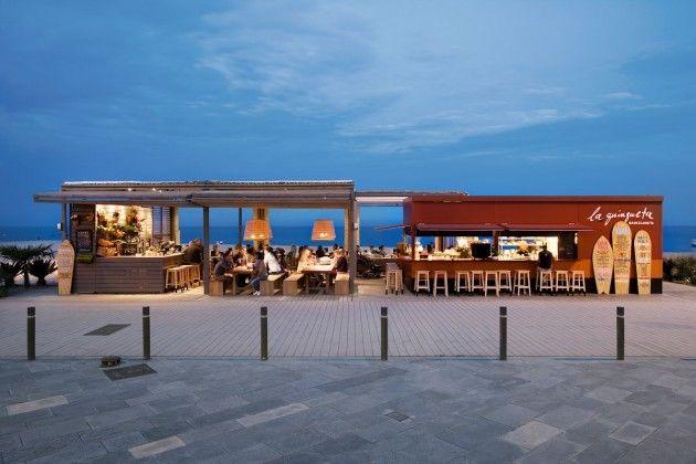 Le bar de plage la Guingueta par Sandra Tarruella interioristas ...