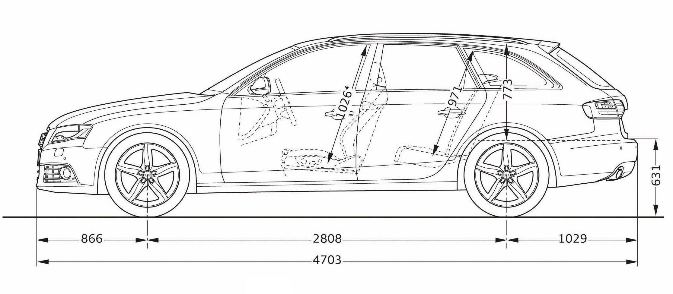 Audi Rs4 Ausmalbilder