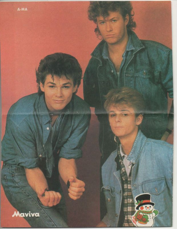 A-ha Love Morten's pose here haha
