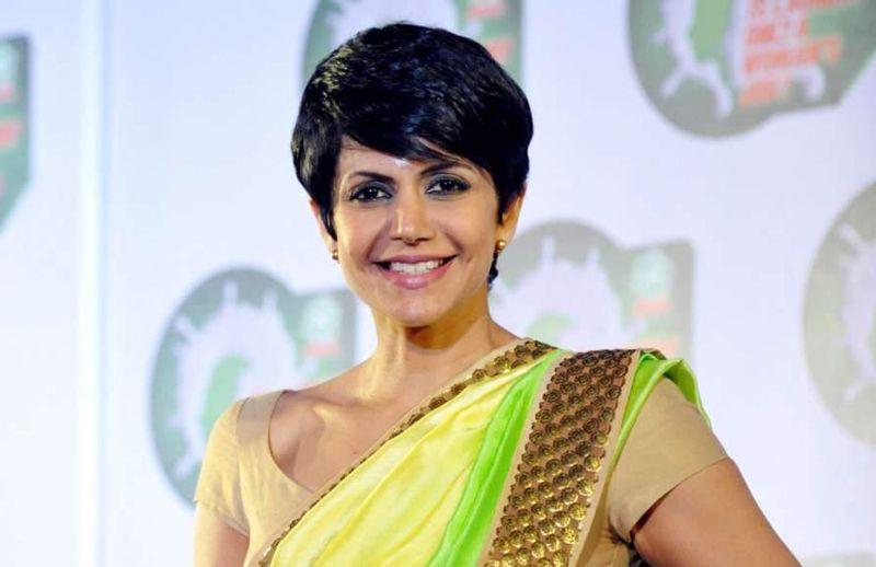 Actress Mandira Bedi #Tshirt Challenge Video