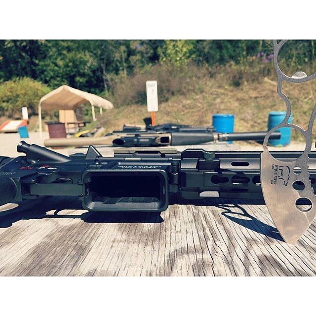 "Follower #regram Friday with @whiteriverknives! ""Range day with @hecklerandkoch and #WhiteRiverKnives"" by hecklerandkoch"