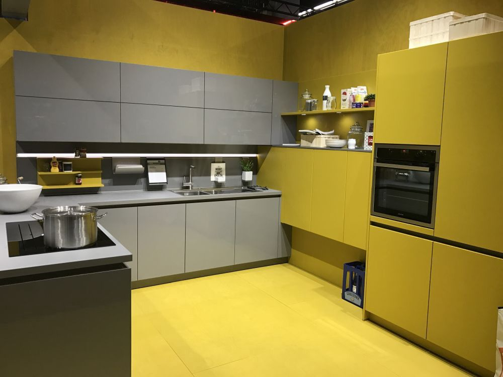 best room colors that can bring good luck to your home modern grey kitchen modern kitchen on kitchen ideas yellow and grey id=81337
