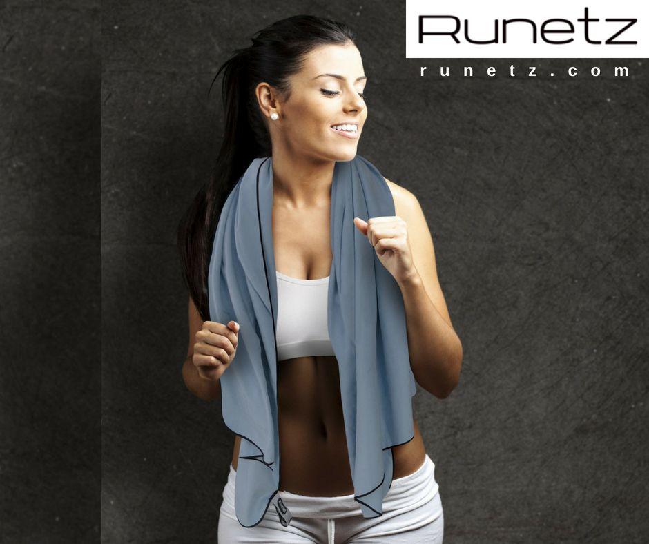 Runetz Extra Large Microfiber Towels Super Absorbent Quick