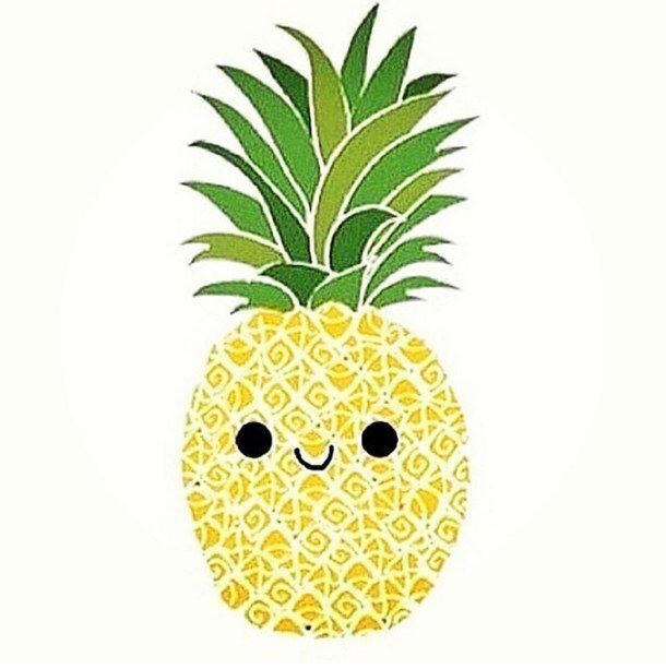 pineapple sticker stickers pinterest. Black Bedroom Furniture Sets. Home Design Ideas