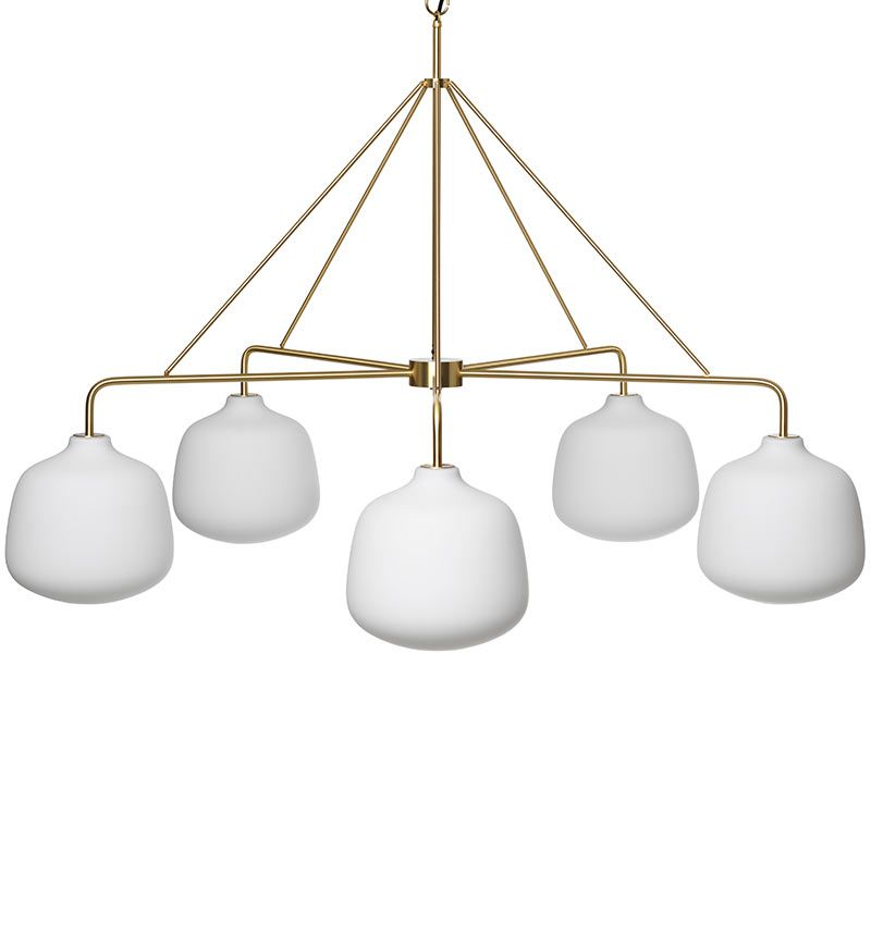 Holborn five globe pendant rubn chiara colombini contemporary pendant lightspendant