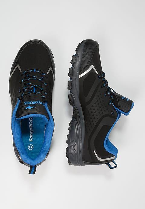 KangaROOS K-OUTDOOR 8092 - Hiking shoes - black/royal blue for £41.99