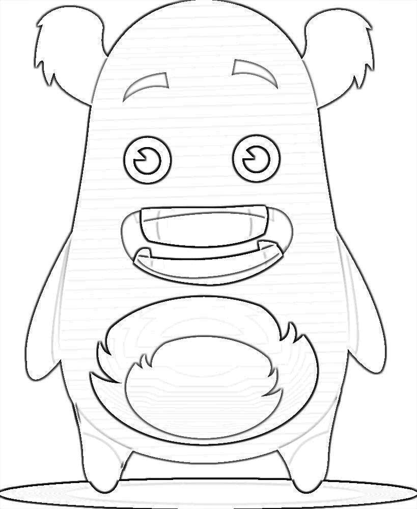 Kleurplaat Monsters Classdojo Kleurplaten Monsters