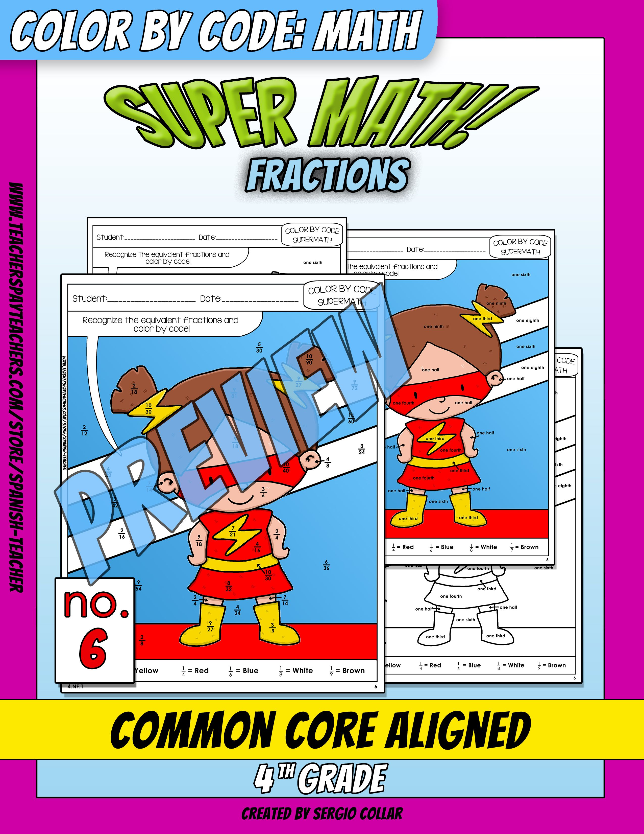 Super Math 006 4th Grade