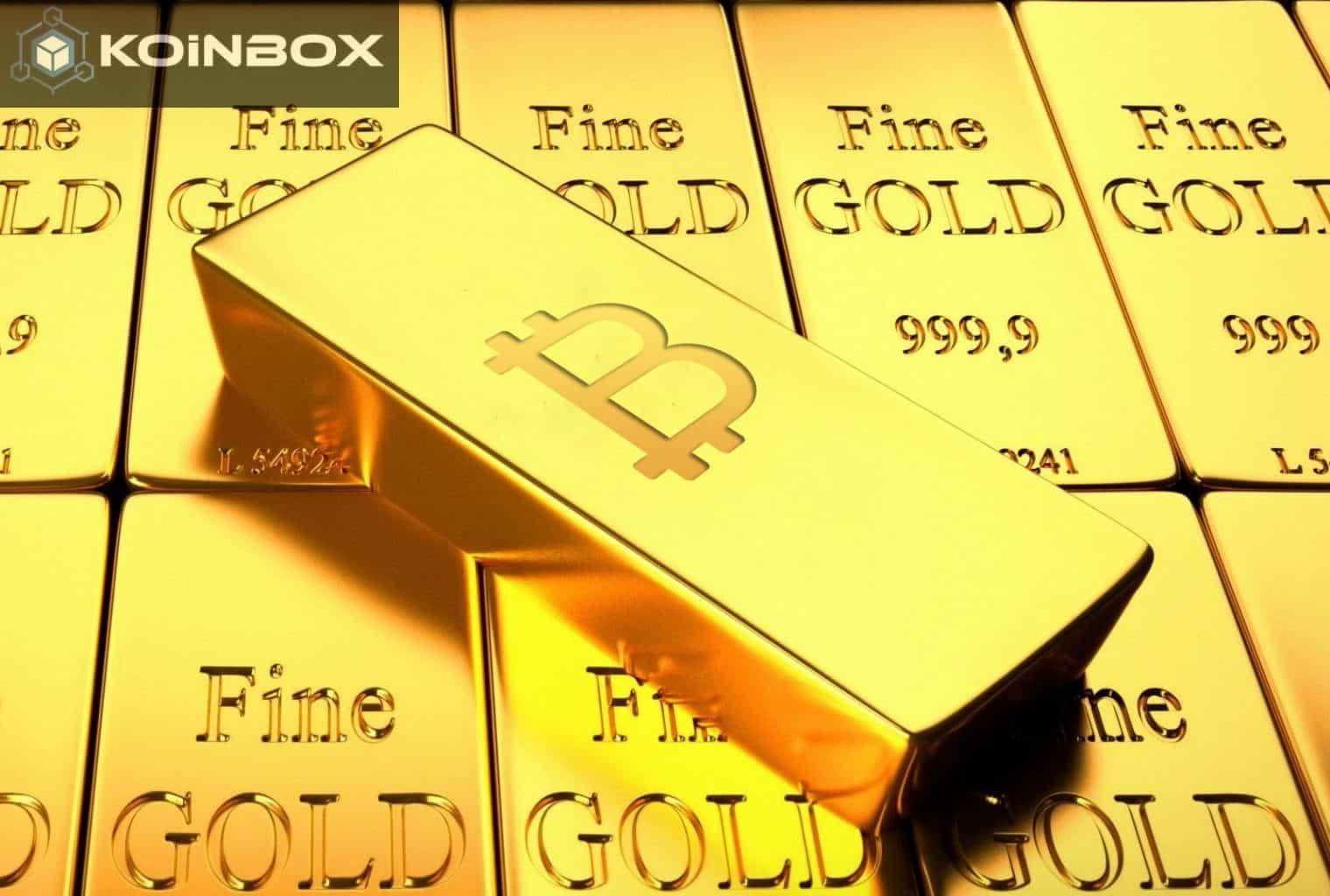Bitcoin aukso santykis su doleriu