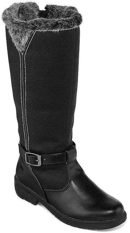 7e9ed9ad0d0 Totes Womens Shauna Wide Calf Winter Boots Waterproof Zip
