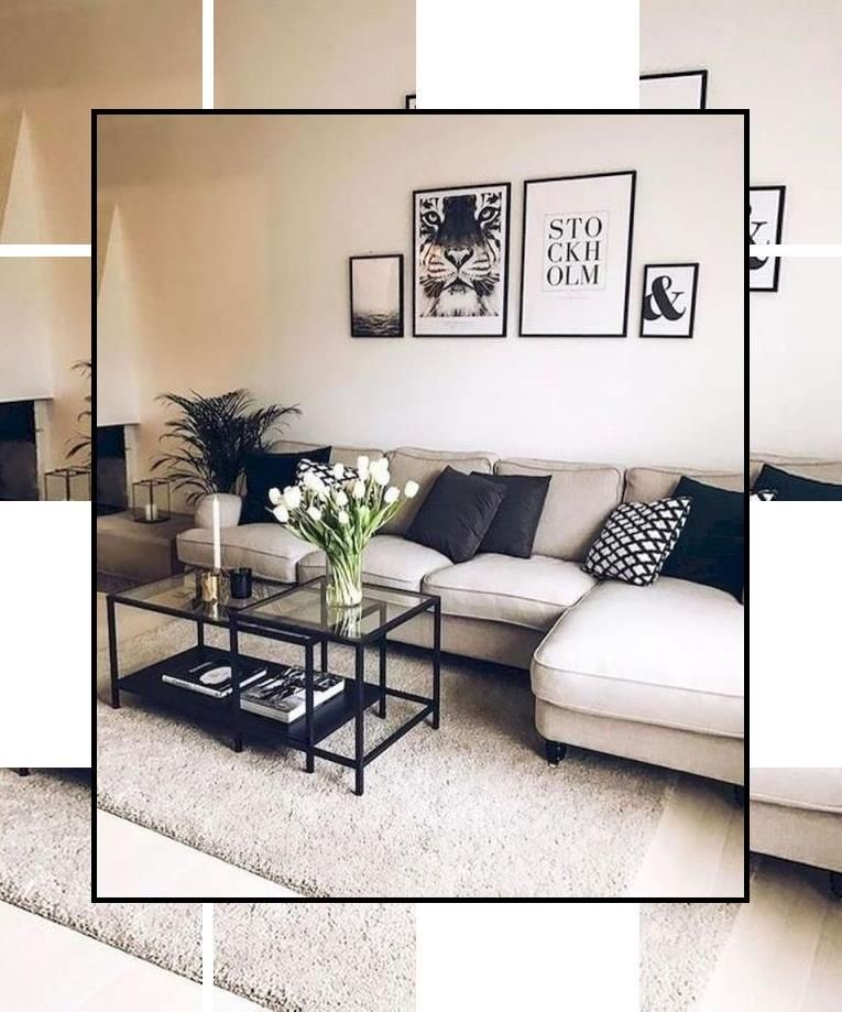 Pin By Maya Chang On Home Decor Living Room Decor Apartment Modern Living Room Inspiration Small Living Rooms