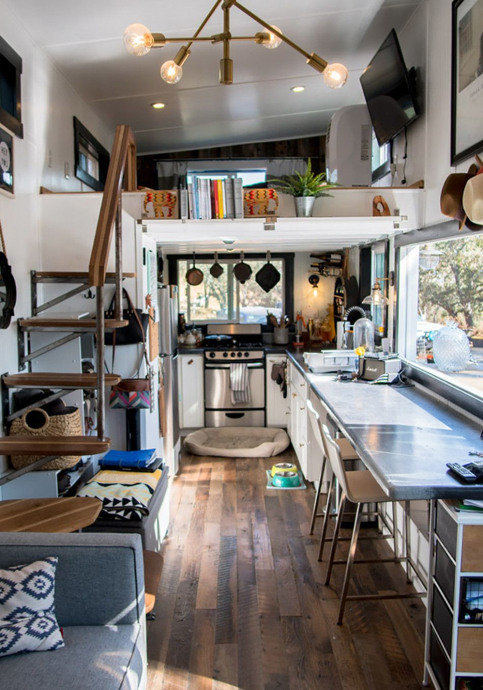 11 Storage Tricks To Steal From People Who Live In Tiny Homes Tiny House Interior Tiny House Storage Tiny House Organization