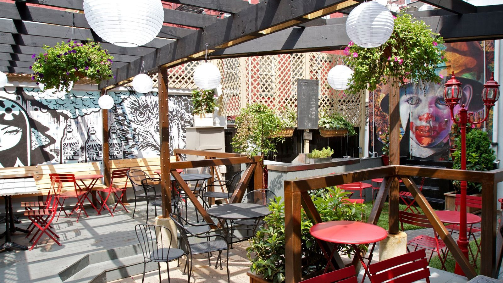 Goodfood 18 Outdoor Spots To Sip Tails In Nyc Foo