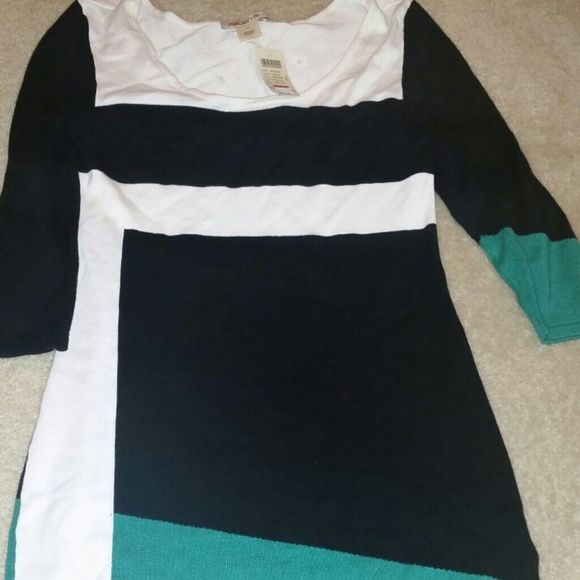 *JUST LOWERED* Arden B Sweater dress! Super sexy color block Arden B dress! Arden B Dresses