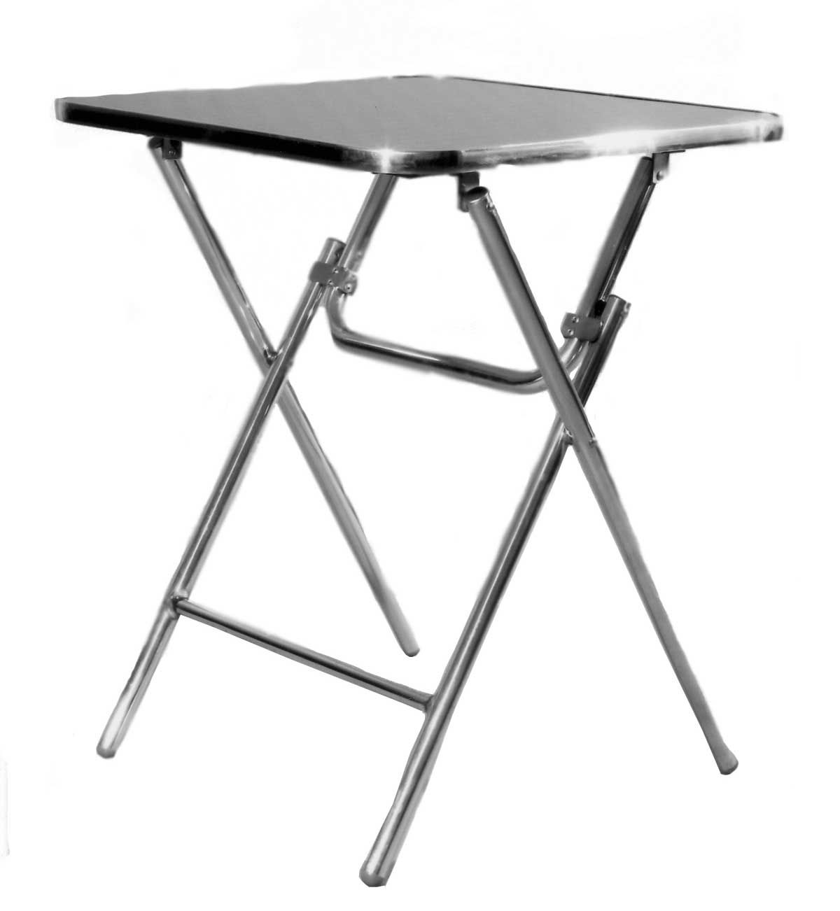 Aluminium Top Holographic Pattern Kids Folding Table