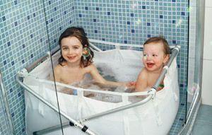 Baignoire Enfant Pliante Pour La Douche Decoclico Bain Des Enfants Baignoire Enfant Baignoire