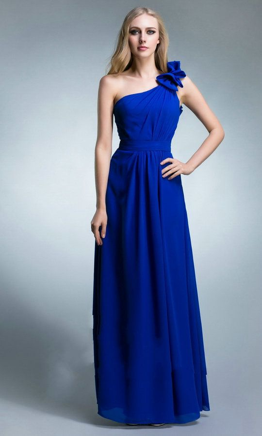 Bridesmaid Dresses Royal Blue