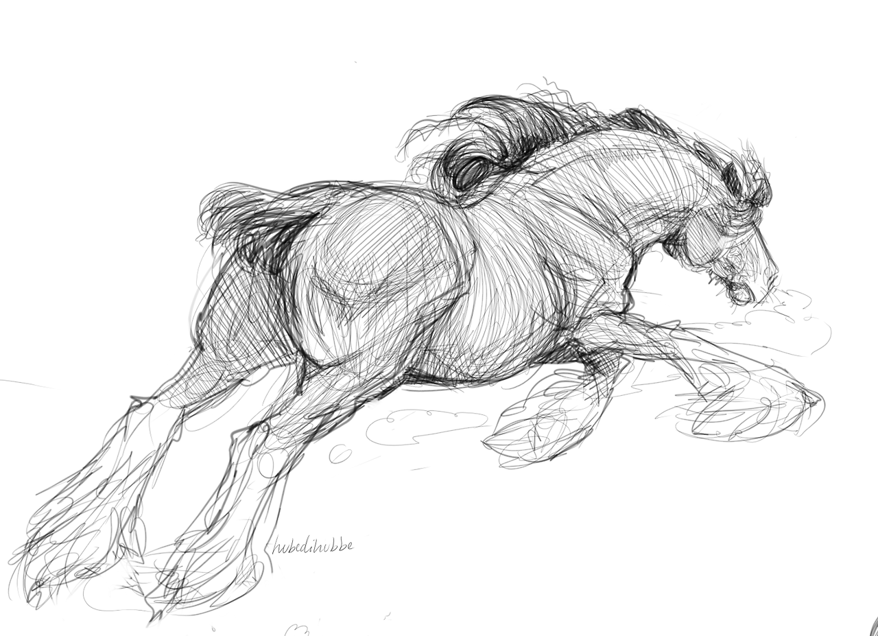 Not Only Lazy But Smart Too Horse Sketch Horse Drawings Animal Sketches [ 927 x 1280 Pixel ]