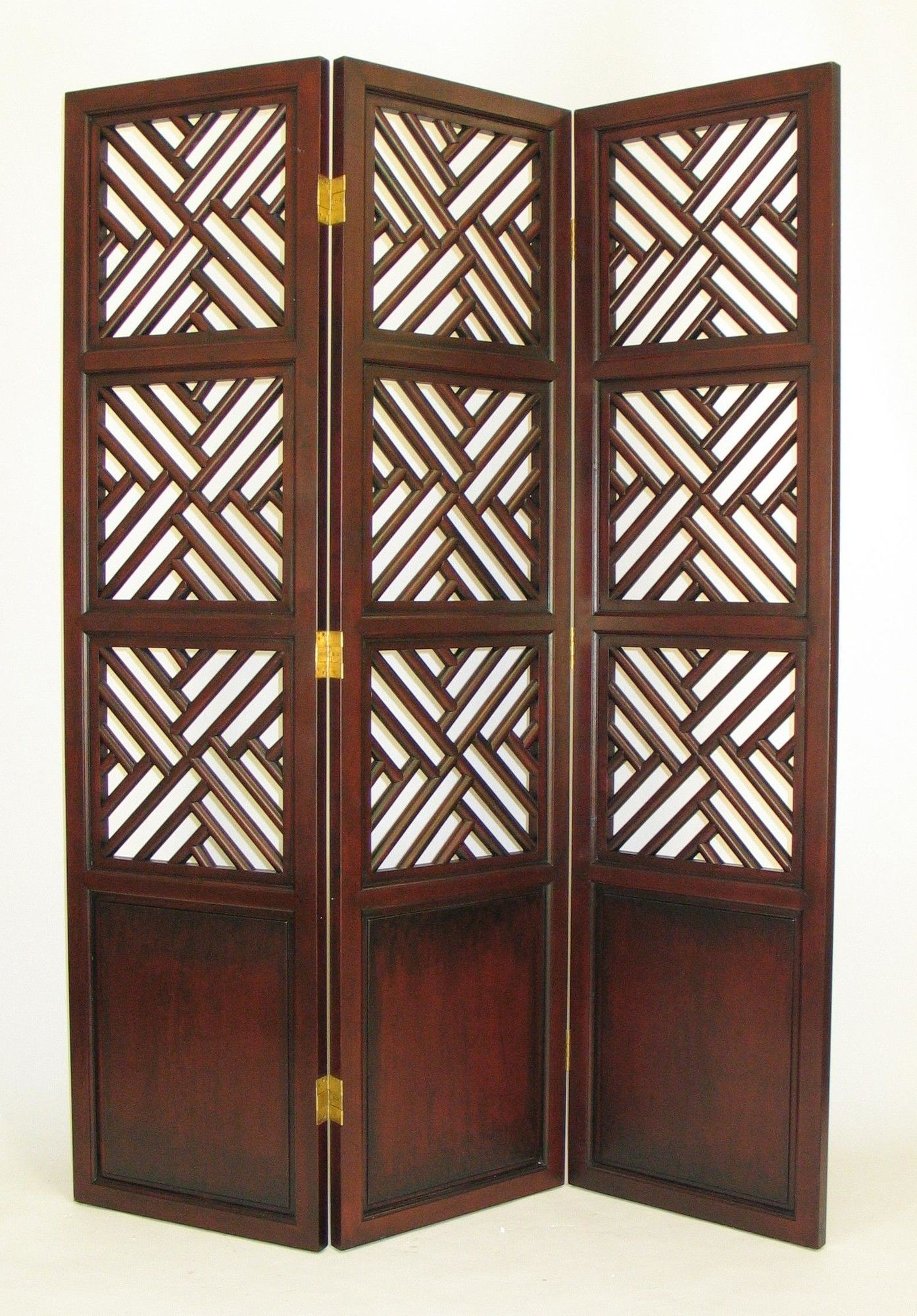 Features intertwine theme solid birch wood handpainted