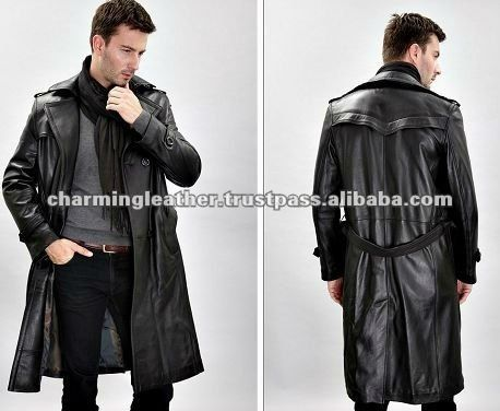 leather long coats for men - Google Search | claudes choice pics ...