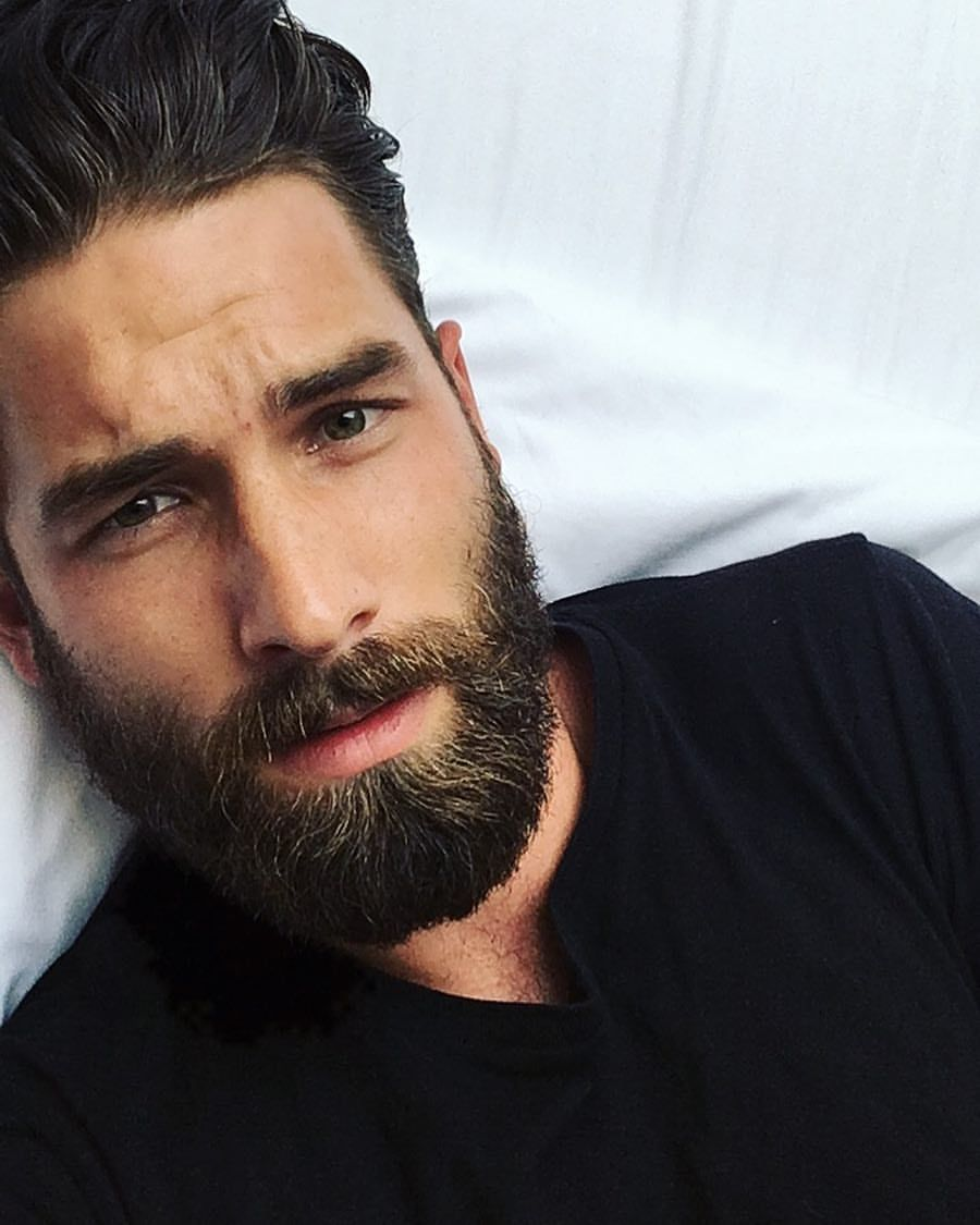 Terrific Pin On Handsome Bearded Men Natural Hairstyles Runnerswayorg