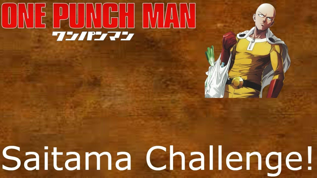 SAITAMA CHALLENGE DAY 10 OF 30 MONTHLY WORKOUT ...