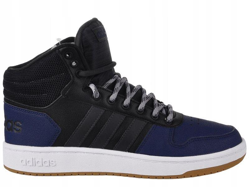 Buty Meskie Adidas Hoops 2 0 Mid B44613 R 45 1 3 7595085040 Oficjalne Archiwum Allegro Adidas High Top Sneakers Top Sneakers