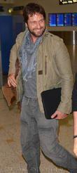 Gerard Butler Arrive In Australia