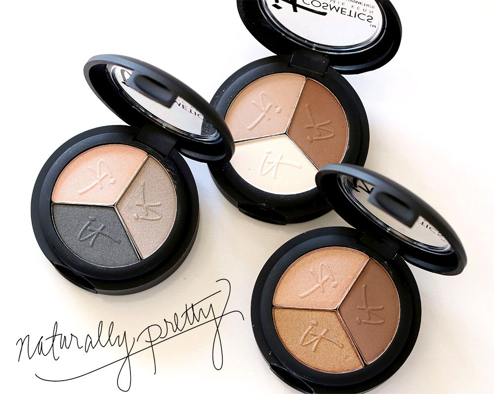 Open when  sc 1 st  Pinterest & Three of the six It Cosmetics Naturally Pretty Eyeshadow Trios ($24 ...