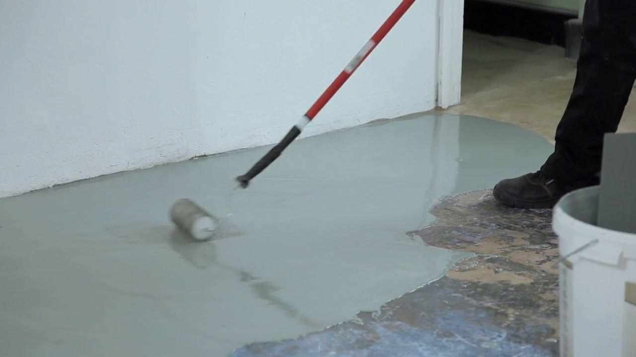 Concrete Floor With Watco Flowtop