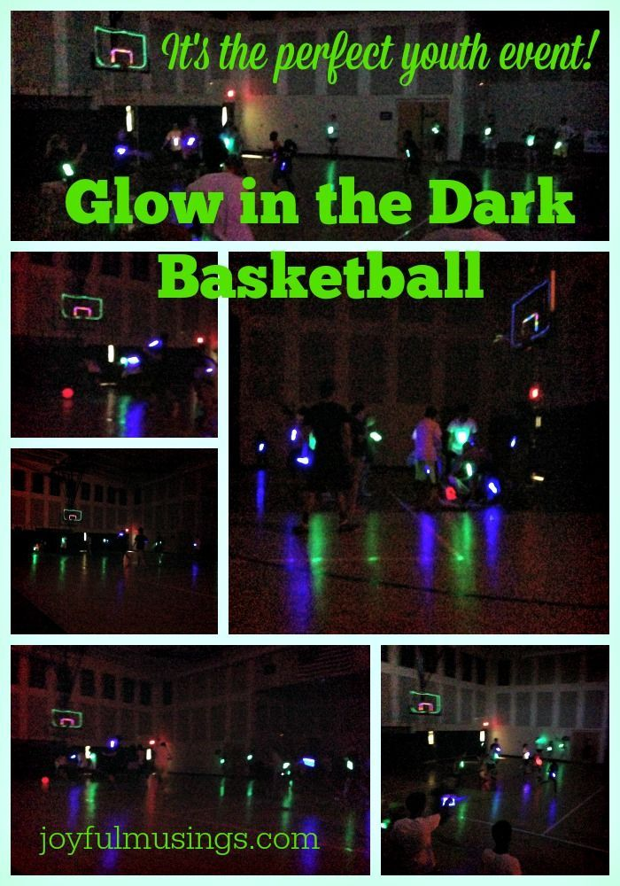 How To Play Glow In The Dark Basketball! It Is A Hybrid Between Dodge Ball  And Basketball With Flashing Blinky Lights! The Kids Love It!