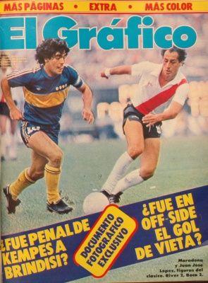 Boca Juniors - 1981 Diego Armando Maradona y un descendido