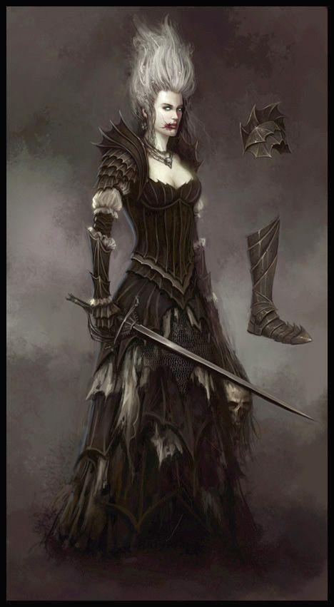 Vampire Npc From Warhammer Online Age Of Reckoning By Daarken