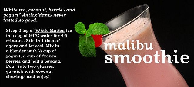 Malibu Smoothie by DAVID'sTEA, via Flickr