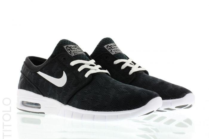 quality design 8ef90 ae40a 631303-010 Black White Nike Stefan Janoski Max Titolo    https