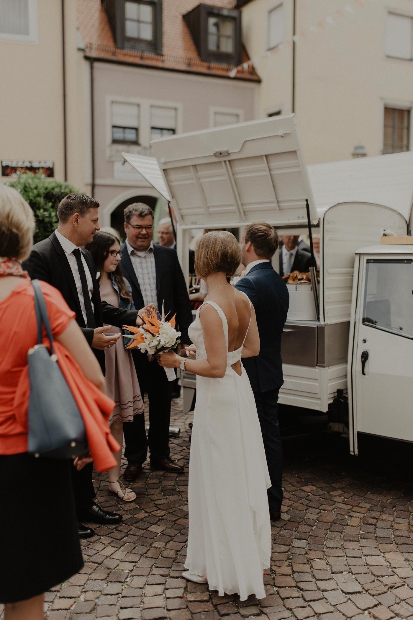 Sektape Nach Trauung Sektempfang Hochzeit Trauung Empfang
