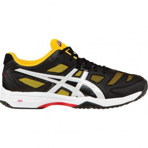 detailed look efae9 3114a Asics GEL-Solution Slam 2 Mens Tennis Shoe E405N.9001 Black-White-