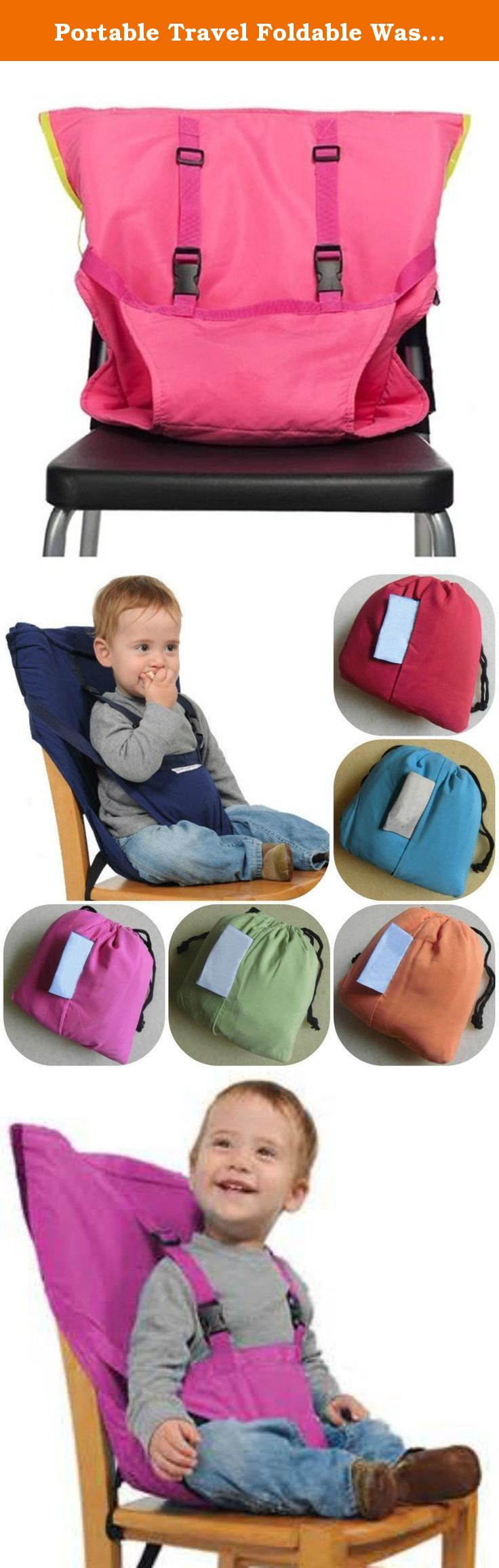 Portable Travel Foldable Washable Baby Infants Dining High
