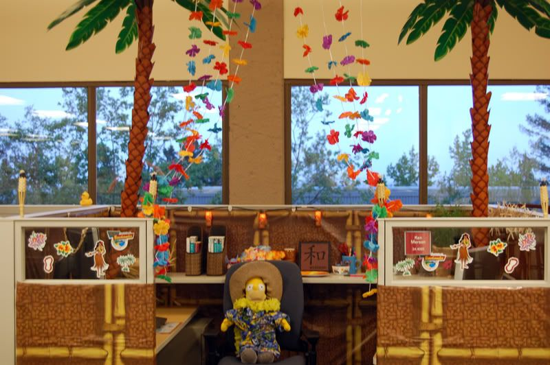 office cubicle decoration themes. Company Had A Cubicle Decorating Contest At Work. Office Decoration Themes