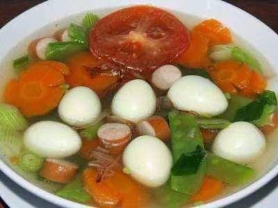 Resep Sayur Bening Sawi Resep Resep Makanan Makanan Sehat Balita