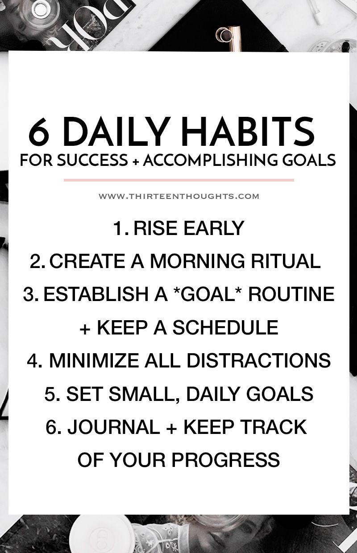 Self Improvement Daily Habits