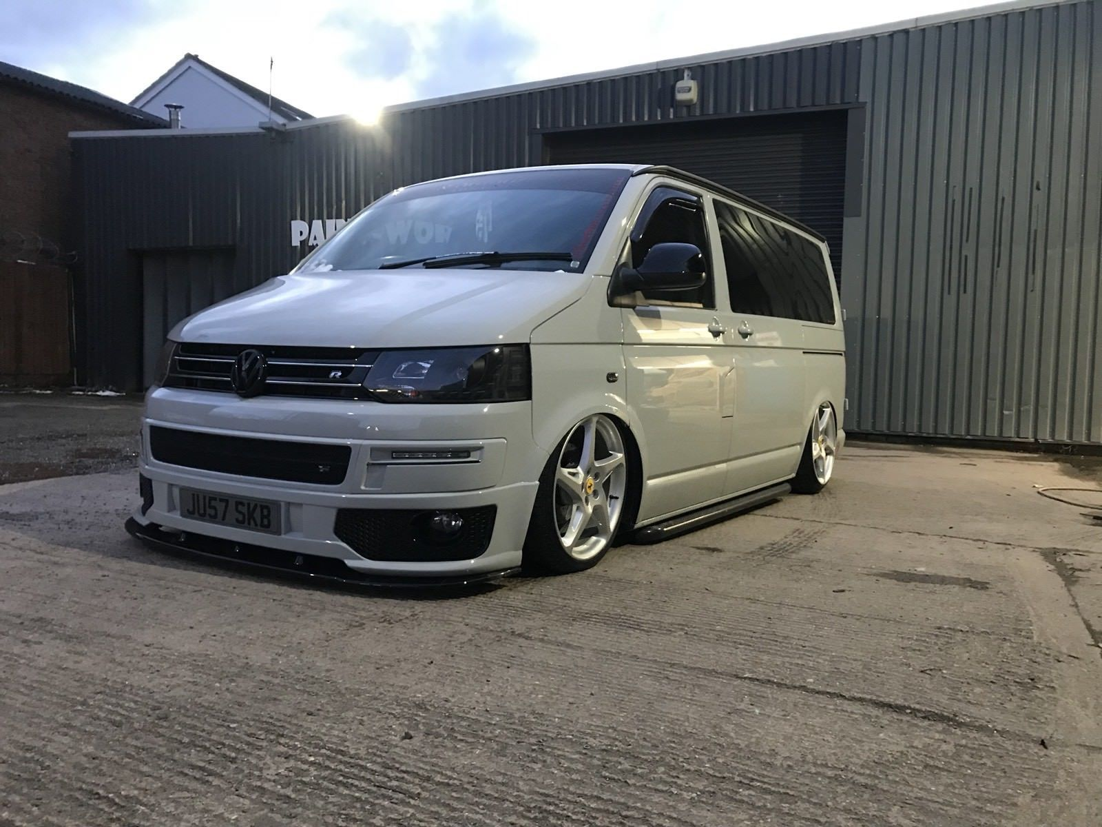 Ferrari 458 Alloys And Tyres For Vw Transporter And Adaptors