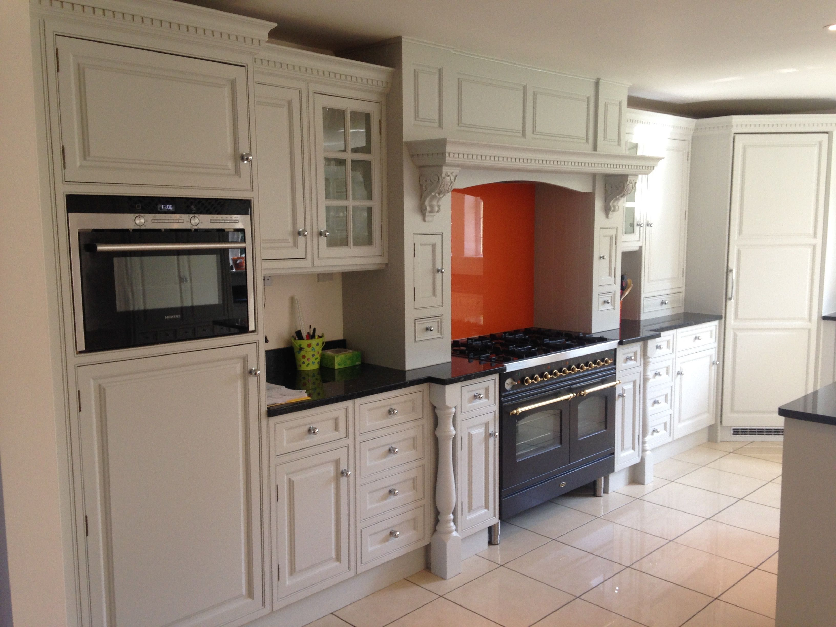 A Beautiful Scottwood Of Nottingham Bespoke Kitchen Had Painted Using  @Tikkurila Helmi Supplied By @