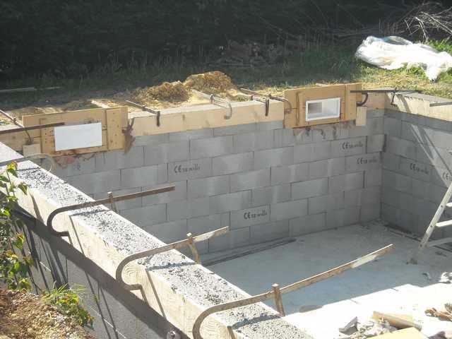 radier piscine piscine Pinterest Construction - Piscine A Construire Soi Meme