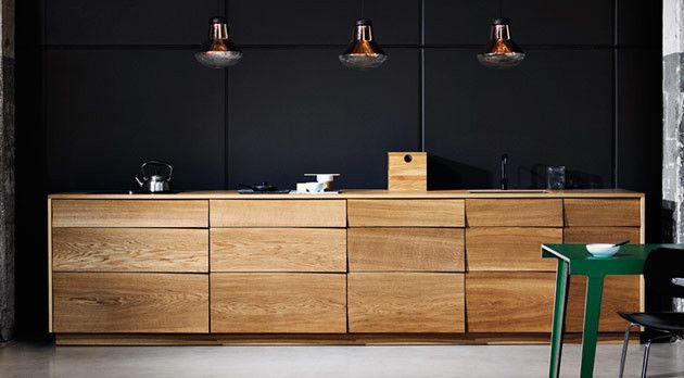 Reflect kitchen similar to the Muuto Reflect Sideboard - Küchenfront ...