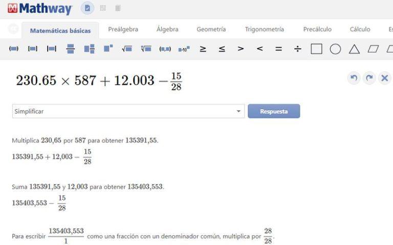 Mathway Resuelve Operaciones Matematicas Con Vista Paso A Paso Social Media Good To Know Marketing