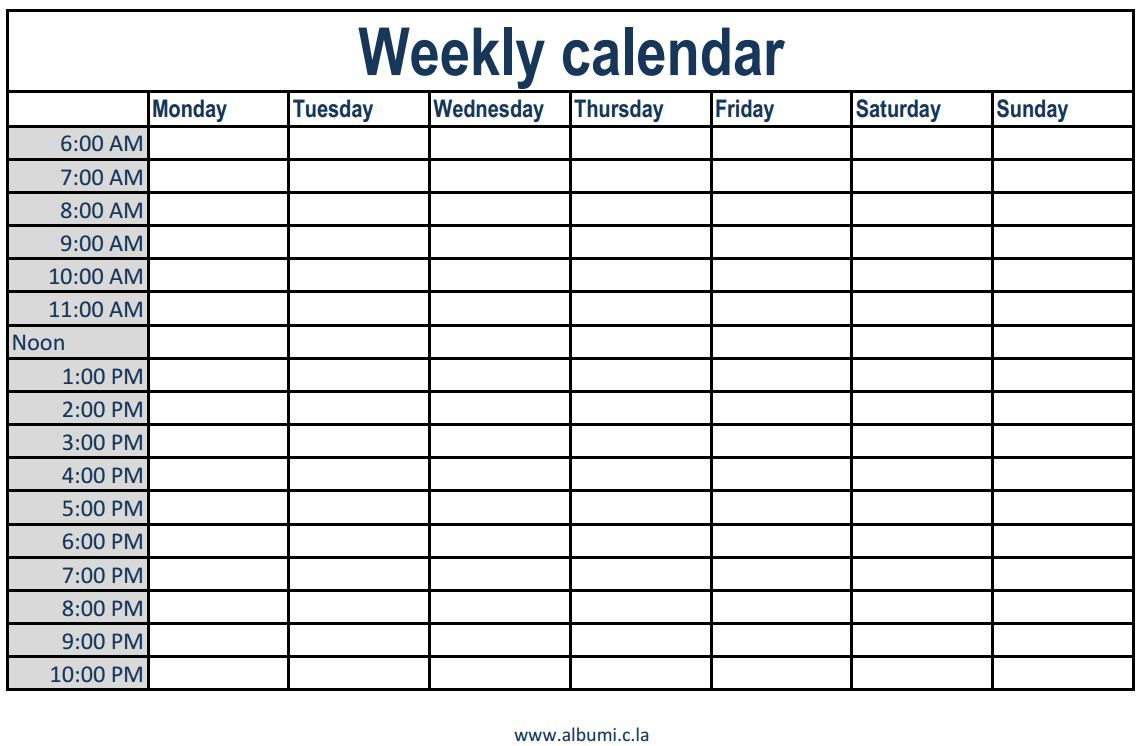 2019 weekly appointment book